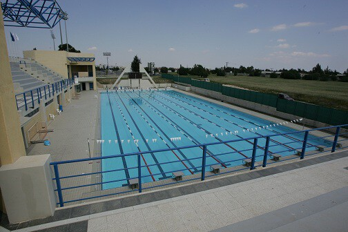 Olympic Swimming Pool In Larnaca 50m Cyprus Highlights