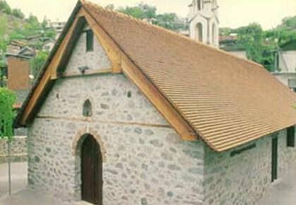 Εκκλησία Παναγίας Χρυσοπαντάνασσας στο Παλαιχώρι Πηγή: ikypros