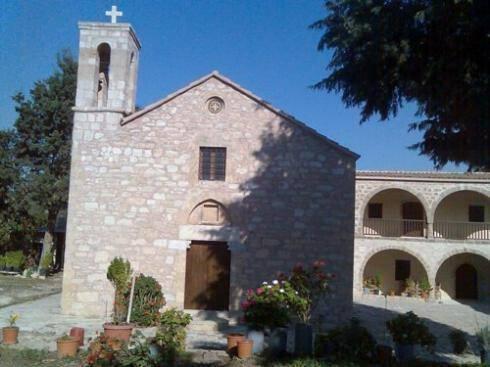 Ιερά Μονή Τιμίου Σταυρού Μίνθης Πηγή: Ιερά Μητρόπολη Πάφου