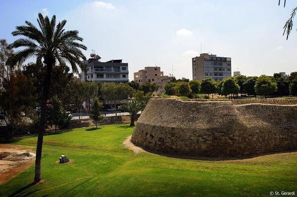 The Medieval walls of Lefkosia