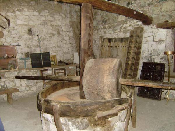 Μuseum the Olive-mill of the Church of Agios Ioannis Prodromos in Agros