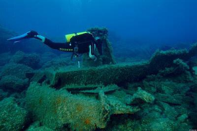 The Three Stars Wreck Diving Site