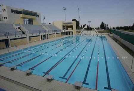 Olympic Swimming Pool in Larnaca 50m