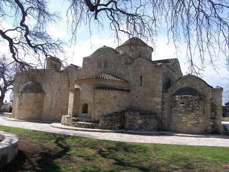 Church of Panagia (Our Lady) tis Aggeloktistis, Kiti