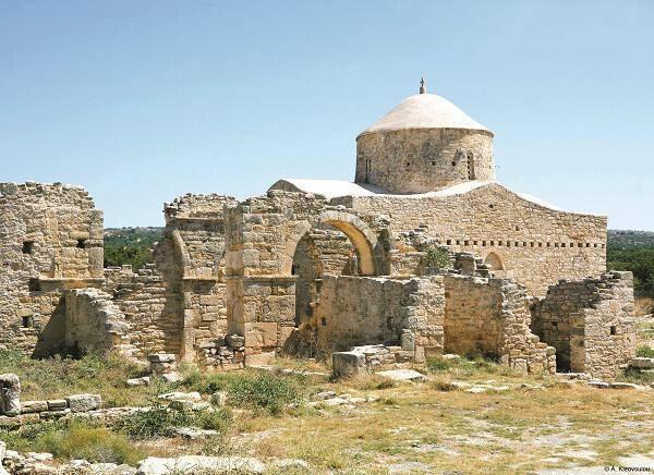 The Monastery of the Holy Cross, Anogyra