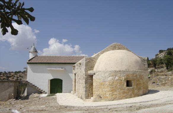 The mosque in the village of Melandra