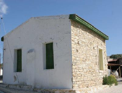The mosque in the village of Agia Anna