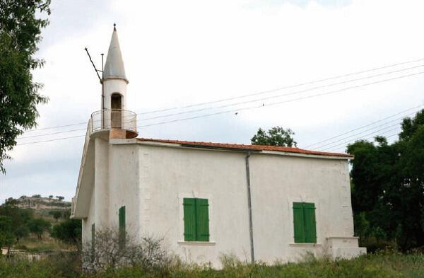 The mosque in the village of Ayios Georgios