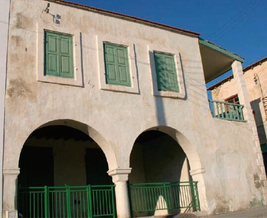 The mosque in the village of Agios Theodoros