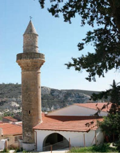 The mosque in the village of Kalavasos