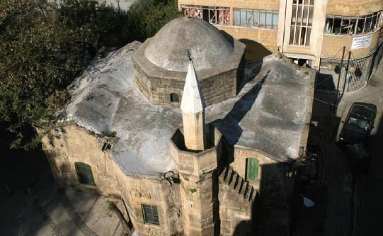 The Arablar mosque (Stavros tou Missirikou – within the walls), Nicosia