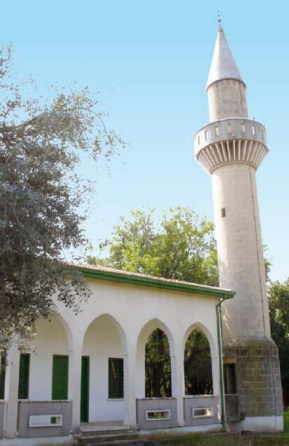 The mosque in the village of Paramali
