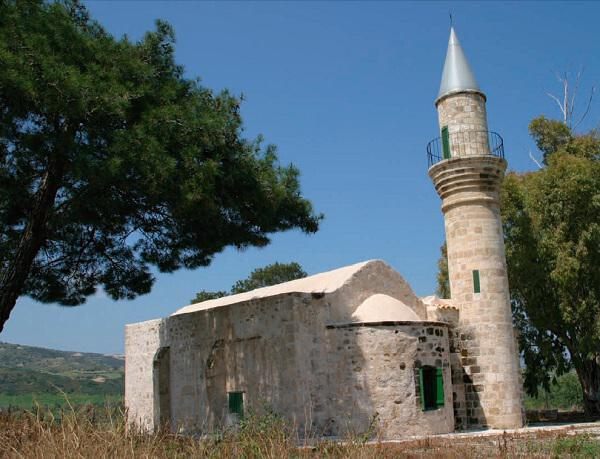 The mosque in the village of Chrysochou