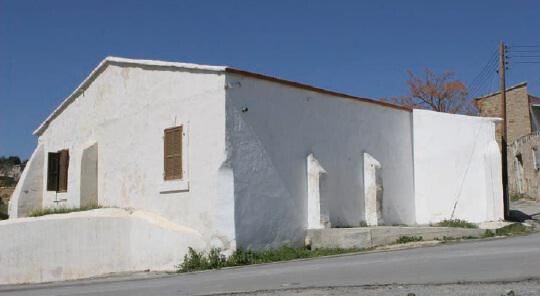 The mosque in the village of Tochni