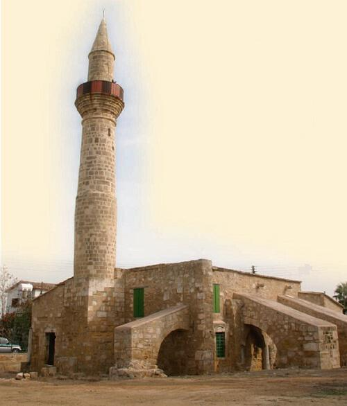 The mosque of Tuzla in the town of Larnaka
