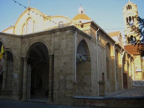 Church of Panagia Faneromeni (within the walls) Nicosia