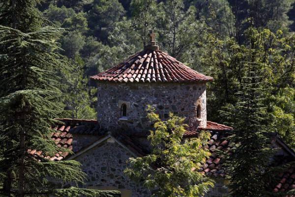 Saint Onoufrios next to Maheras Monastery