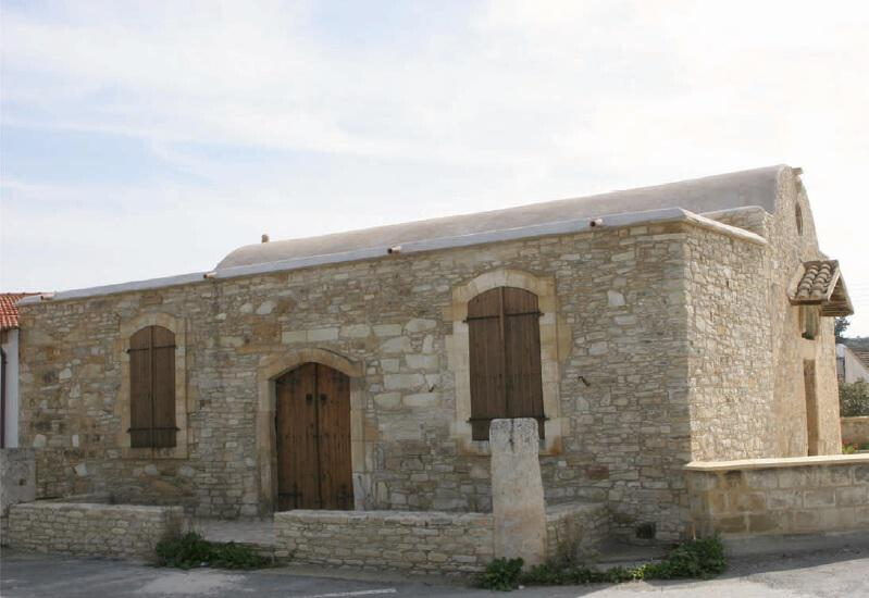 The mosque in the village of Klavdia