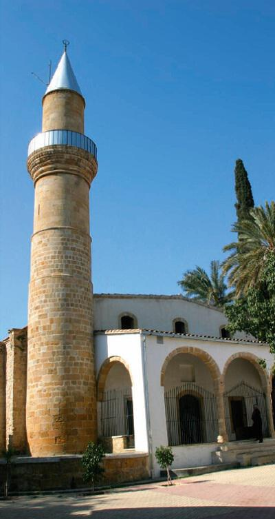 The Taht El Kale mosque (within the walls) in the quarter of Nicosia