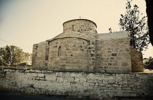 Church of Agios Efstathios, Kolossi