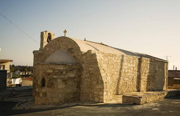 Church of Agios Andronicos, Kolossi
