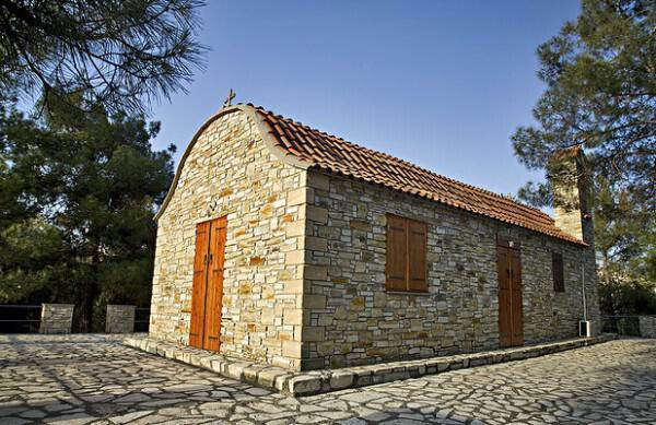 Agia Eleousa chapel, Agia Anna, Larnaka