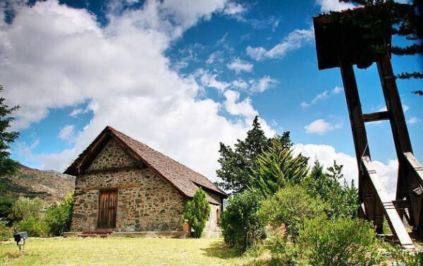 Holy Cross Church in the village Kyperounta