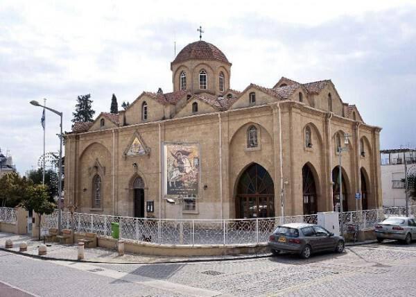 Agios Georgios church, Agios Dometios - Cyprus Highlights