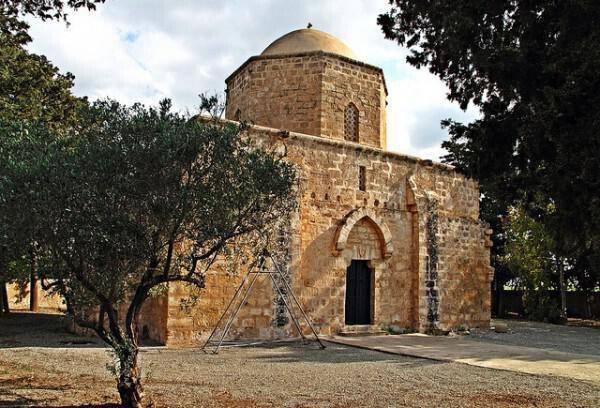 Church of Agios Georgios Teratsiotis, Achna