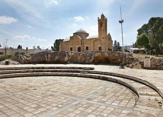 Byzantine church of Agios Dometios