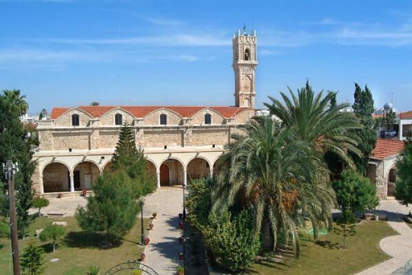 Church of Virgin Mary of Chrysopolitissa in Larnaka
