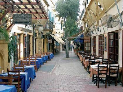 Laiki Geitonia (Traditional Neighbourhood) – within the walls Nicosia
