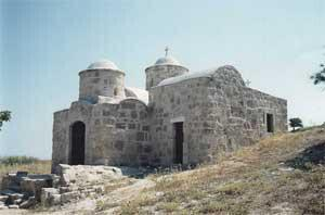 Agia Marina church at Deryneia