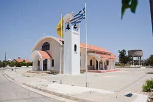 Apostle Barnavas church at Deryneia
