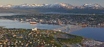 The Norwegian city of Tromso