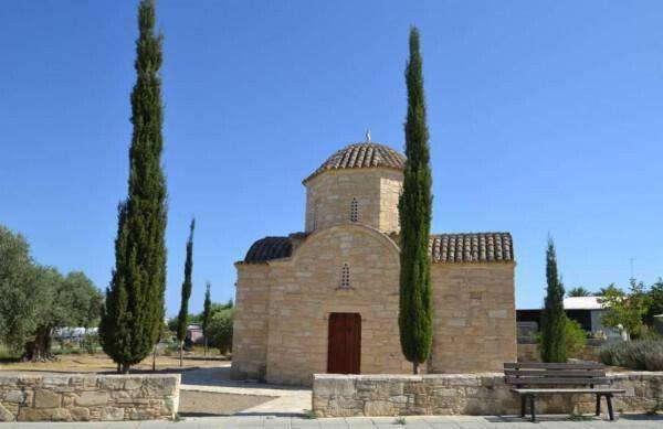 Chapel of Agios Dimitrianos in Tersefanou
