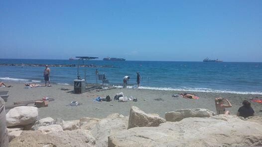 Accessible Beach Akti Olimpion Limassol