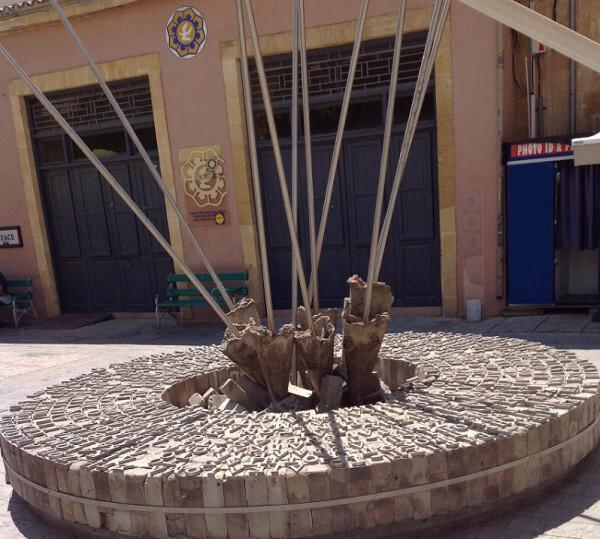 Human Rights Monument (within the walls) Nicosia
