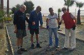 New Boules (Petanque) Courts at Foinikoudes
