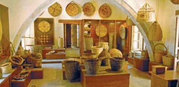 Χωριό Ίνεια – Λαογραφικό Mουσείο Καλαθοπλεκτικής