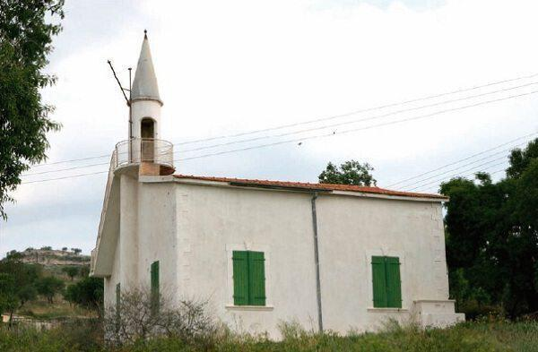 Το τζαμί στο χωριό του Αγίου Γεωργίου