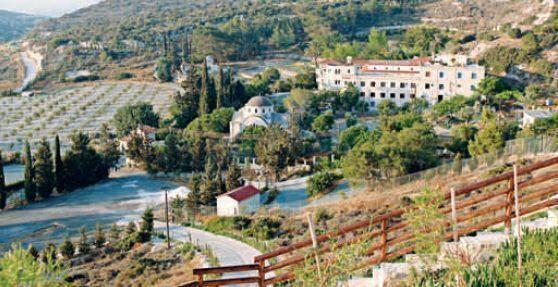 Ιερά Μονή Αγίου Γεωργίου του Αλαμάνου