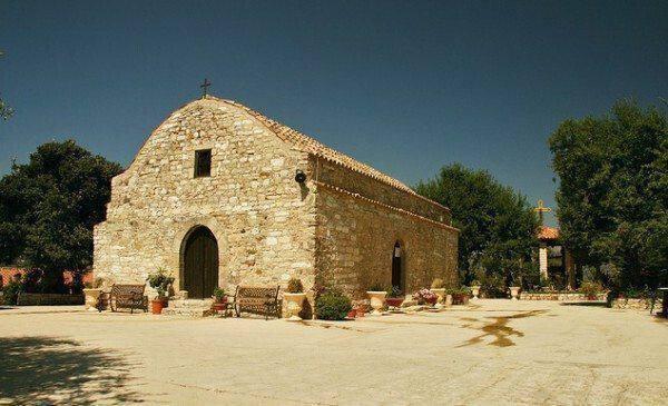 Ιερά Μονή Παναγίας Σαλαμιώτισσας, στην Σαλαμιού