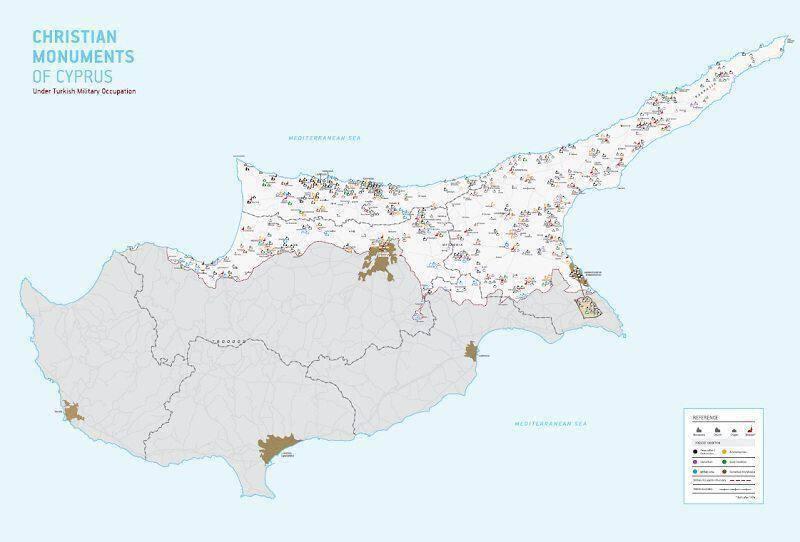 Θρησκευτικά Μνημεία στην κατεχόμενη Κύπρο