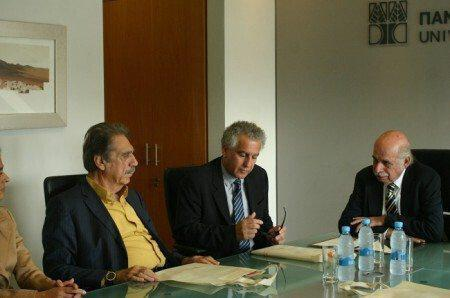 ΚΟΕ και Πανεπιστήμιο Κύπρου συνυπέγραψαν / Μνημόνιο Συναντίληψης στο πεδίο του αθλητισμού