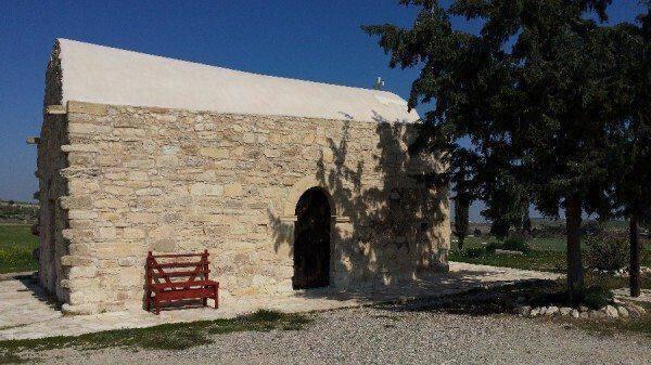 Εξωκλήσι Αγίων Ανδρονίκου και Αθανασίας στην Τερσεφάνου
