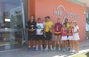 Ολοκληρώθηκε το Ηροδότου Tennis Academy Grade1 Π. Χρυσοχός στους Άνδρες, Ρ. Σερμπάν στις Γυναίκες
