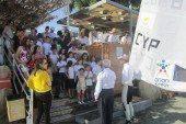 Ο πρεσβευτής εθελοντισμού Παύλος Κοντίδης μεταδίδει το μήνυμα του εθελοντισμού