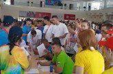 Ολυμπιακό ερωτηματολόγιο στην Τιφλίδα με κυπριακό χρώμα